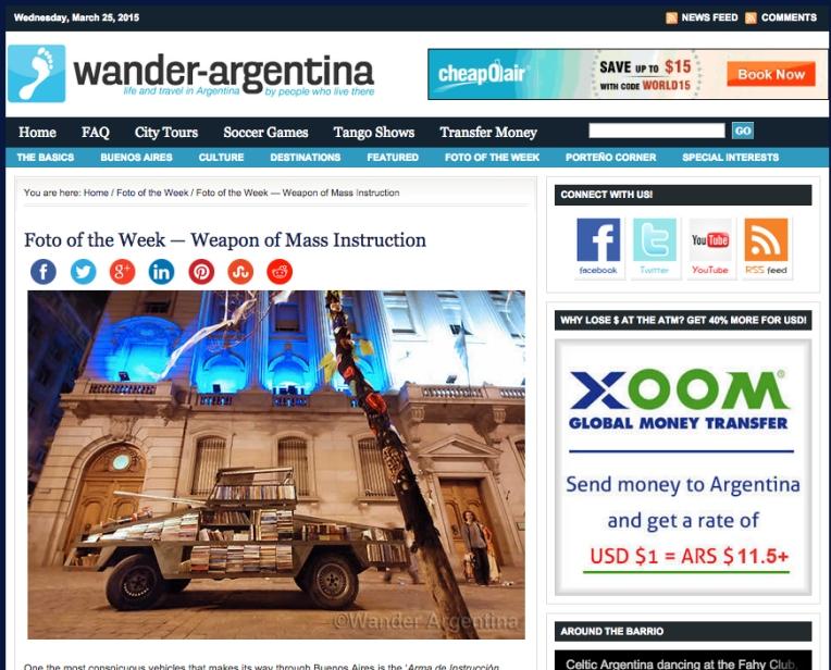 wander argentina